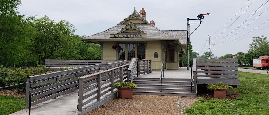 St. Charles Train Depot